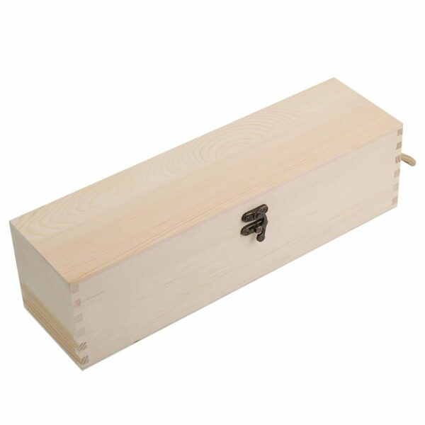 Red Wine Wooden Box