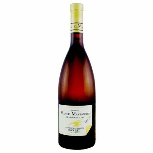 Wine Maven   manuel manzaneque chardonnay especial 2007